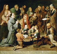 Saint Diego of Alcala Feeds the Poor Fine-Art Print