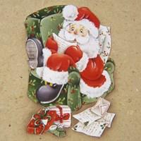Santa's Christmas Lists Fine-Art Print