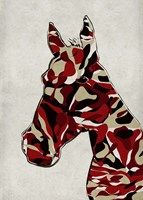 Camouflage Horse Fine-Art Print