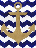 Chevron Anchor Fine-Art Print