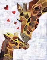 Sweet Giraffes Fine-Art Print