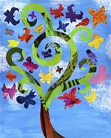Butterfly Tree Fine-Art Print