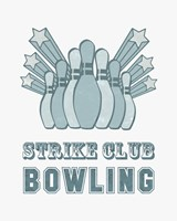 Strike Club Bowling Fine-Art Print