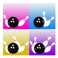 Bowling Pop Fine-Art Print