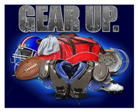 Gear Up Football Fine-Art Print