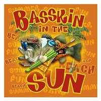 Bassin'  in the Sun Fine-Art Print