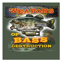 Bass Destruction Fine-Art Print