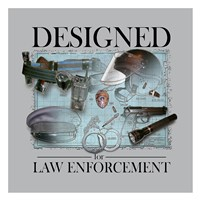 Designed For Law Enforcement Fine-Art Print