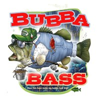 Bubba Bass Fine-Art Print
