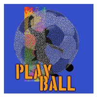 Play Ball Soccer Fine-Art Print