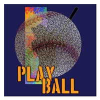 Play Ball Baseball Fine-Art Print
