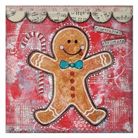 Gingerbread Xmas Fine-Art Print