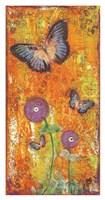 Violet Flutters Fine-Art Print