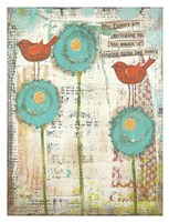 Singing Birds Fine-Art Print