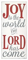 Joy the the World The Lord Fine-Art Print