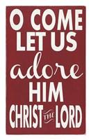 Let Us Adore Him Fine-Art Print