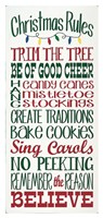 Christmas Rules Fine-Art Print