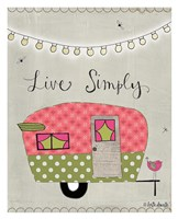 Simple Camper Fine-Art Print