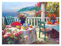 Terrace Brunch Fine-Art Print