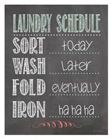 Laundry Schedule Fine-Art Print