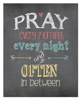 Pray Often Fine-Art Print