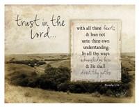 Trust in the Lord Fine-Art Print
