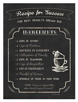 Recipe for Success Fine-Art Print