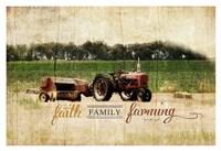 Faith Family Farming Fine-Art Print