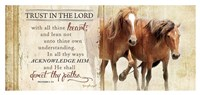 Trust in the Lord (Horses) Fine-Art Print