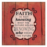 Knowing Who Holds the Future Fine-Art Print