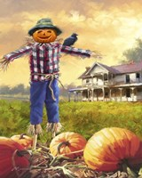 Halloween Scarecrow Fine-Art Print