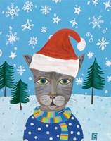 Holiday Cat Fine-Art Print
