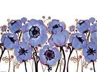 Blue Blooms Fine-Art Print