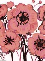 Hot Pink Blooms Fine-Art Print