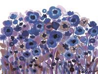 Blue Blooming Garden Fine-Art Print