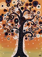 Tree Whimsy And Doves Fine-Art Print