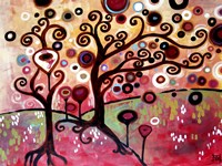 Swirling Tree Whimsy Fine-Art Print