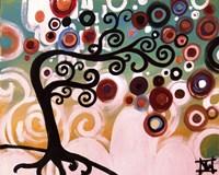 Black Tree Swirl Fine-Art Print
