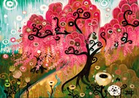 Cherry Blossom Willow Fine-Art Print
