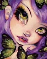 Green Eyed Violet Fine-Art Print