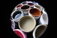 Color Cups & Tape 10 Fine-Art Print