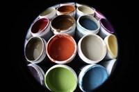 Color Cups & Tape 16 Fine-Art Print
