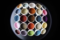 Color Cups & Tape 18 Fine-Art Print