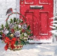 Christmas Basket Fine-Art Print