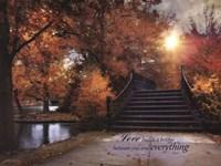 Love Builds A Bridge Fine-Art Print