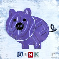 Oink The Pig Fine-Art Print