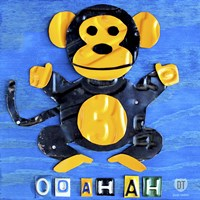 Oo Ah Ah The Monkey Fine-Art Print