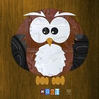 Hoot The Owl Fine-Art Print