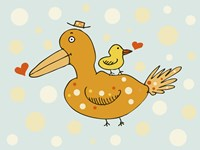 Bird And Baby Fine-Art Print