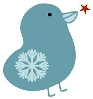 Snowflake Bird Fine-Art Print